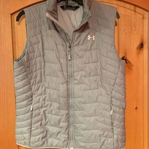 Gray Under Armour Puffer Vest